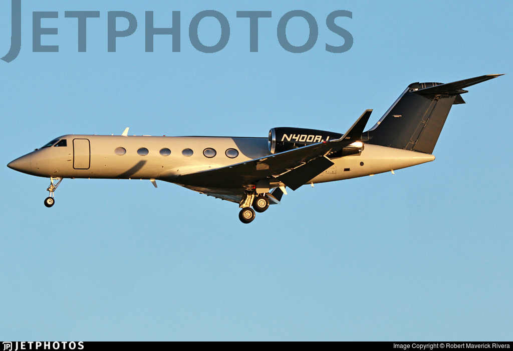 N400AJ - Gulfstream G-IV - Private