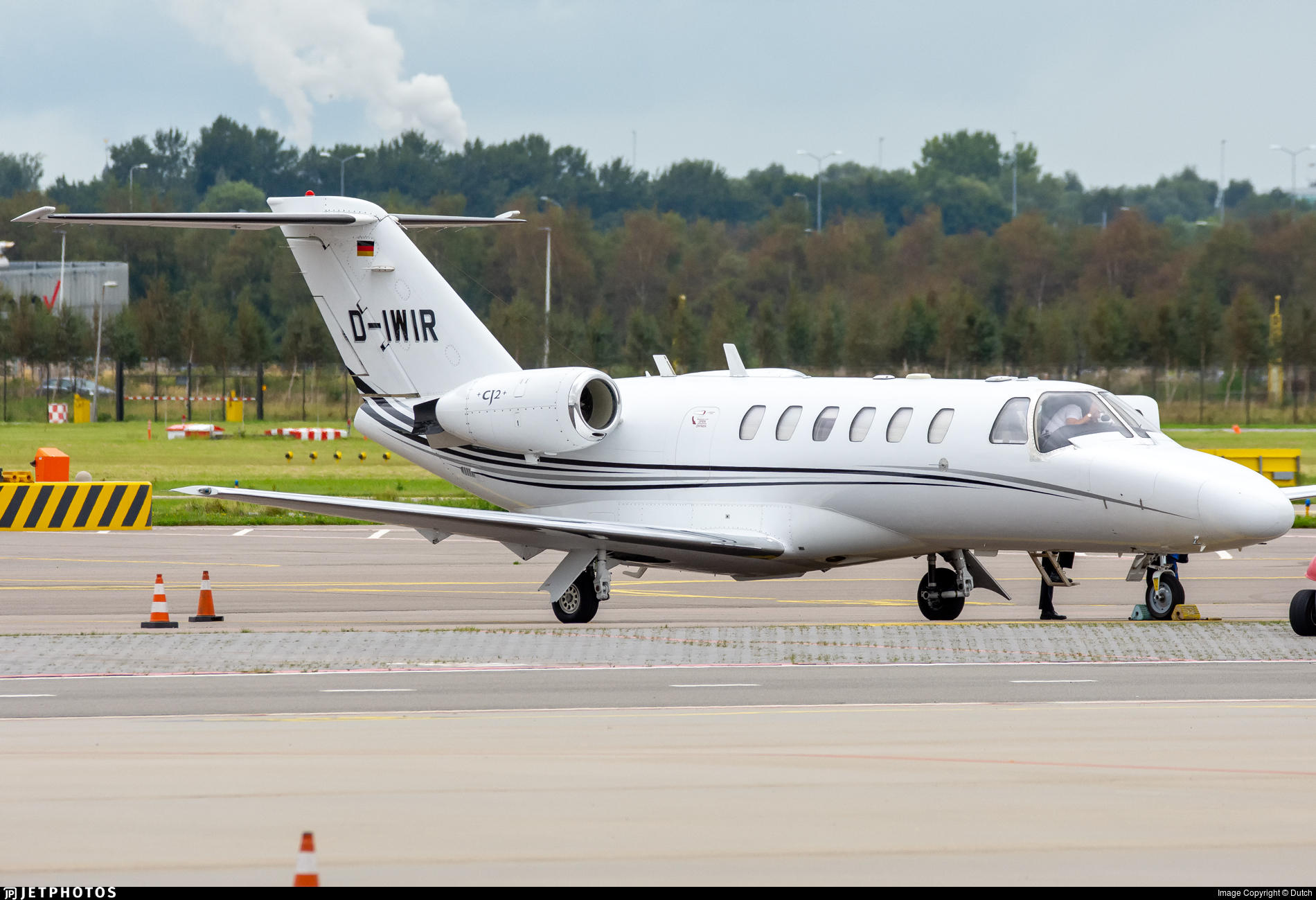 D-IWIR - Cessna 525A CitationJet 2 - Private