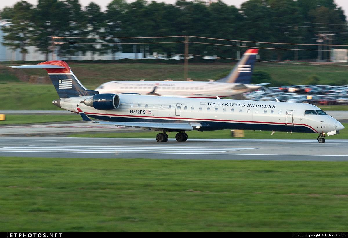 N712PS - Bombardier CRJ-701ER - US Airways Express (PSA Airlines)