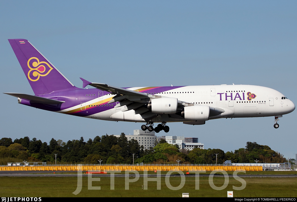 HS-TUB | Airbus A380-841 | Thai Airways International | TOMBARELLI ...