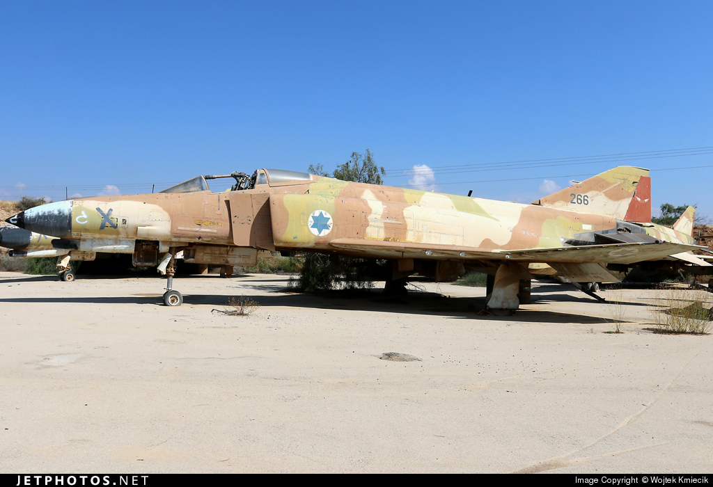 266 - McDonnell Douglas F-4E Kurnass - Israel - Air Force