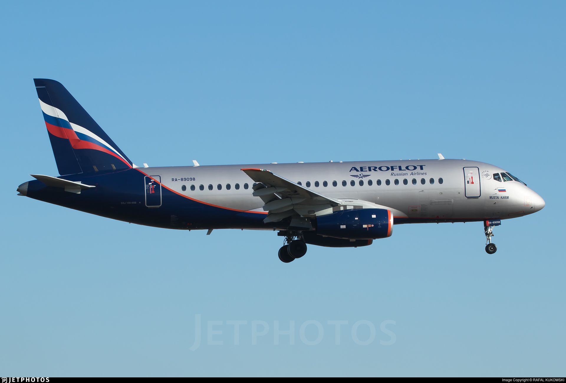 RA-89098 | Sukhoi Superjet 100-95B | Aeroflot | RAFAL