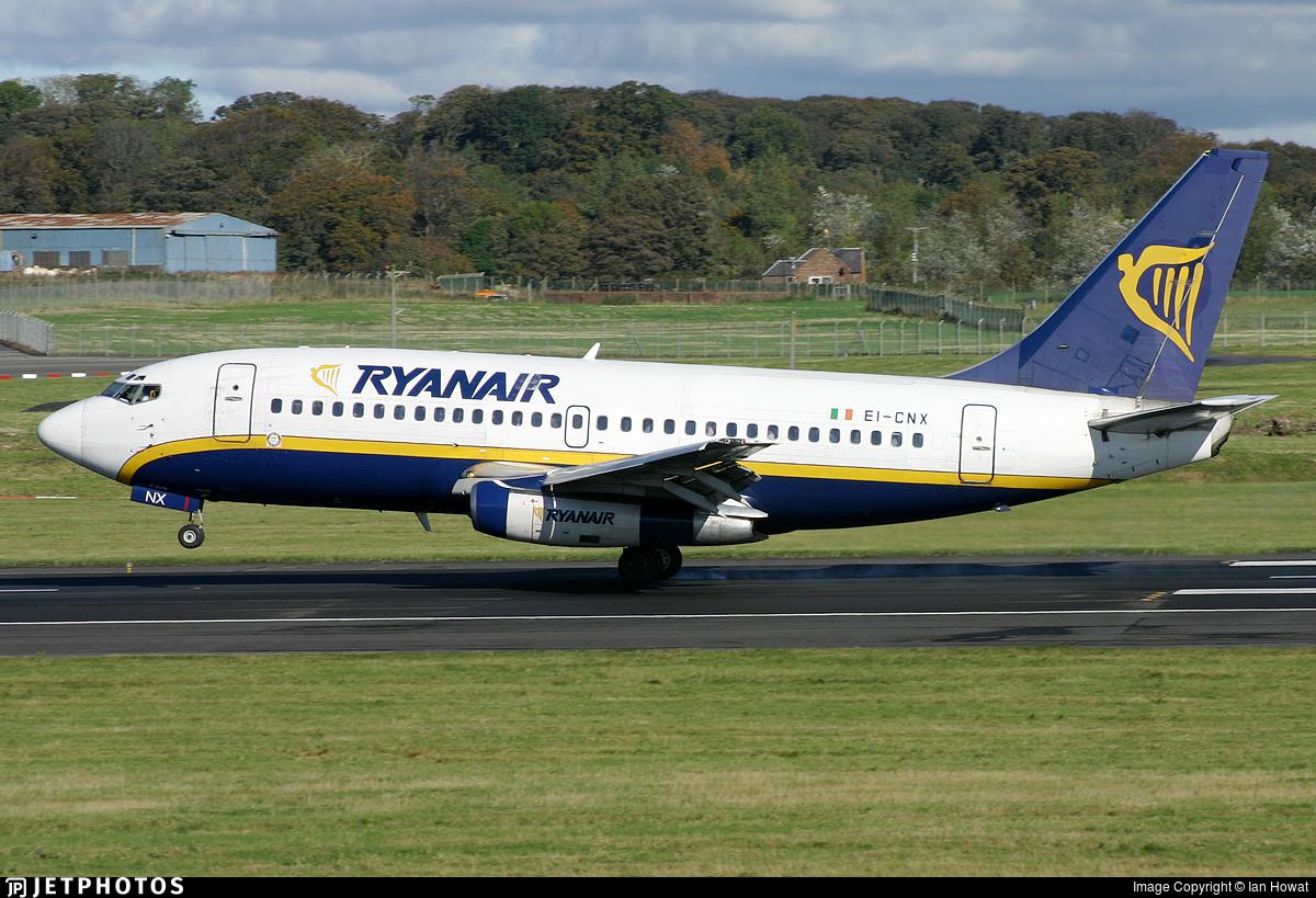 EI-CNX - Boeing 737-230(Adv) - Ryanair