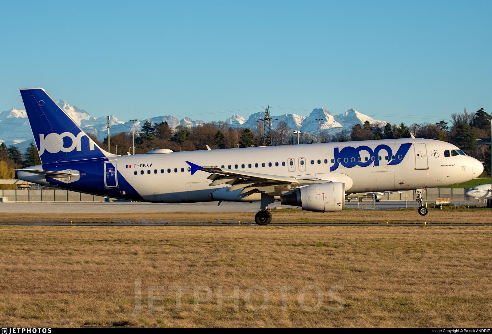 F-GKXV - Airbus A320-214 - Joon