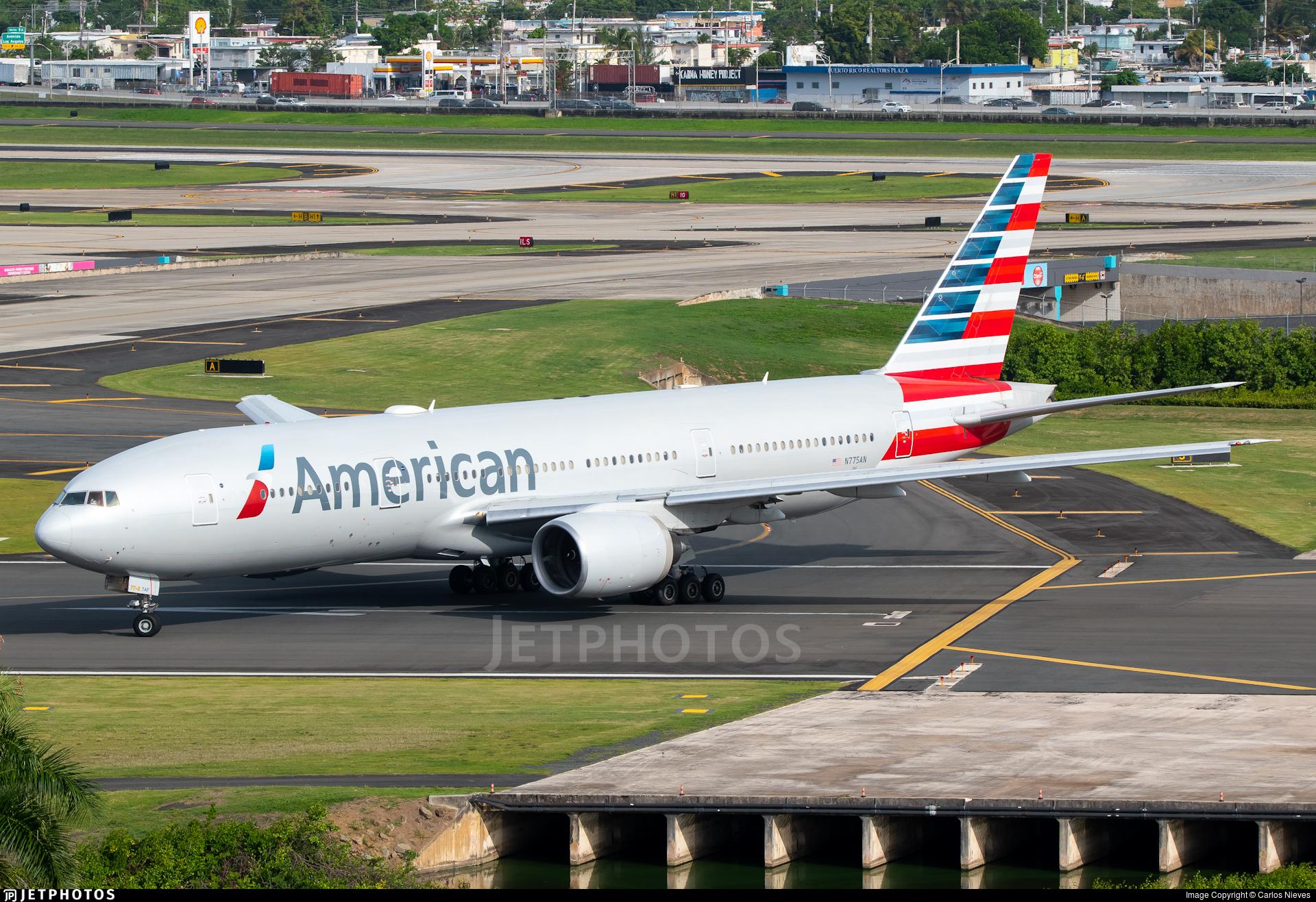 N775AN - Boeing 777-223(ER) - American Airlines