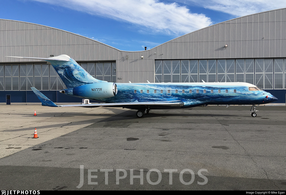N117TF - Bombardier BD-700-1A10 Global Express XRS - Tudor Investment Aviation