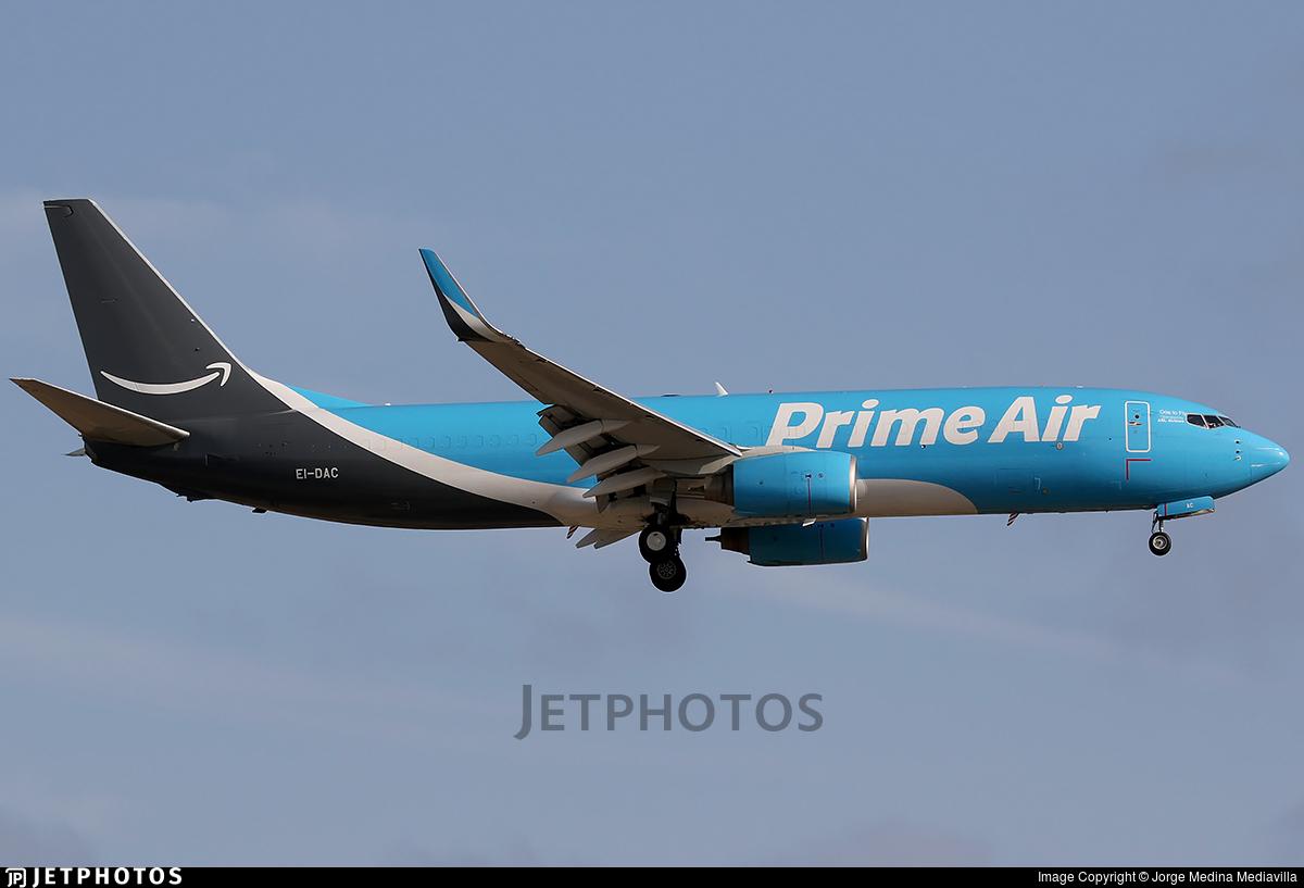 EI-DAC - Boeing 737-8AS(BCF) - Amazon Prime Air (ASL Airlines)
