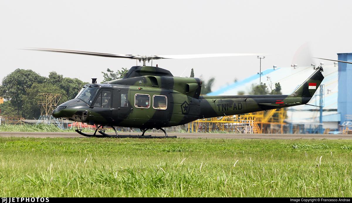 HA-5115 - IPTN NB-412HP - Indonesia - Army