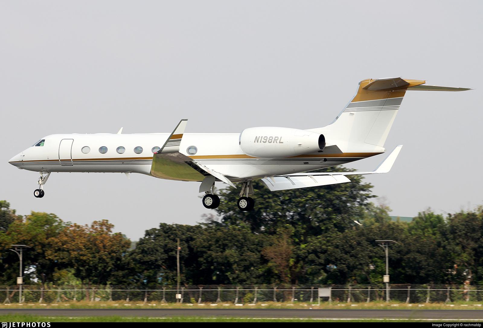 N198RL - Gulfstream G550 - Private