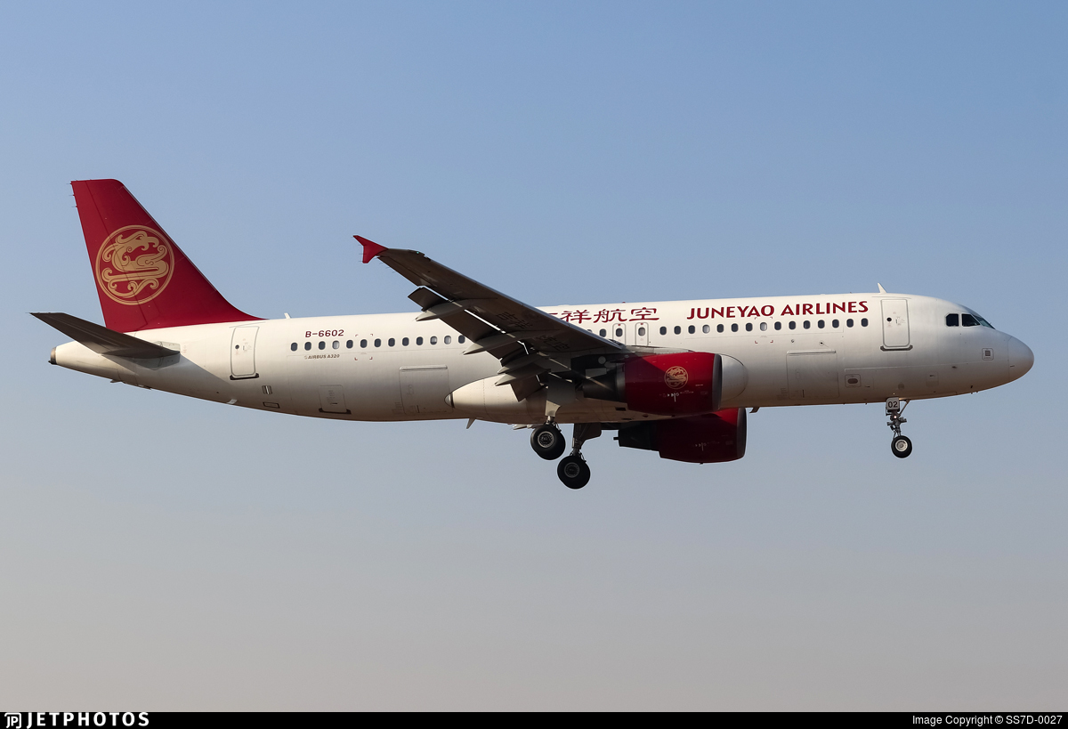 B-6602 - Airbus A320-214 - Juneyao Airlines