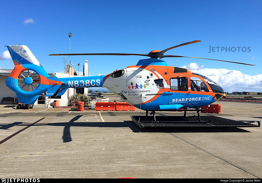 N838CS - Eurocopter EC 135P2+ - Reach Air Medical Services