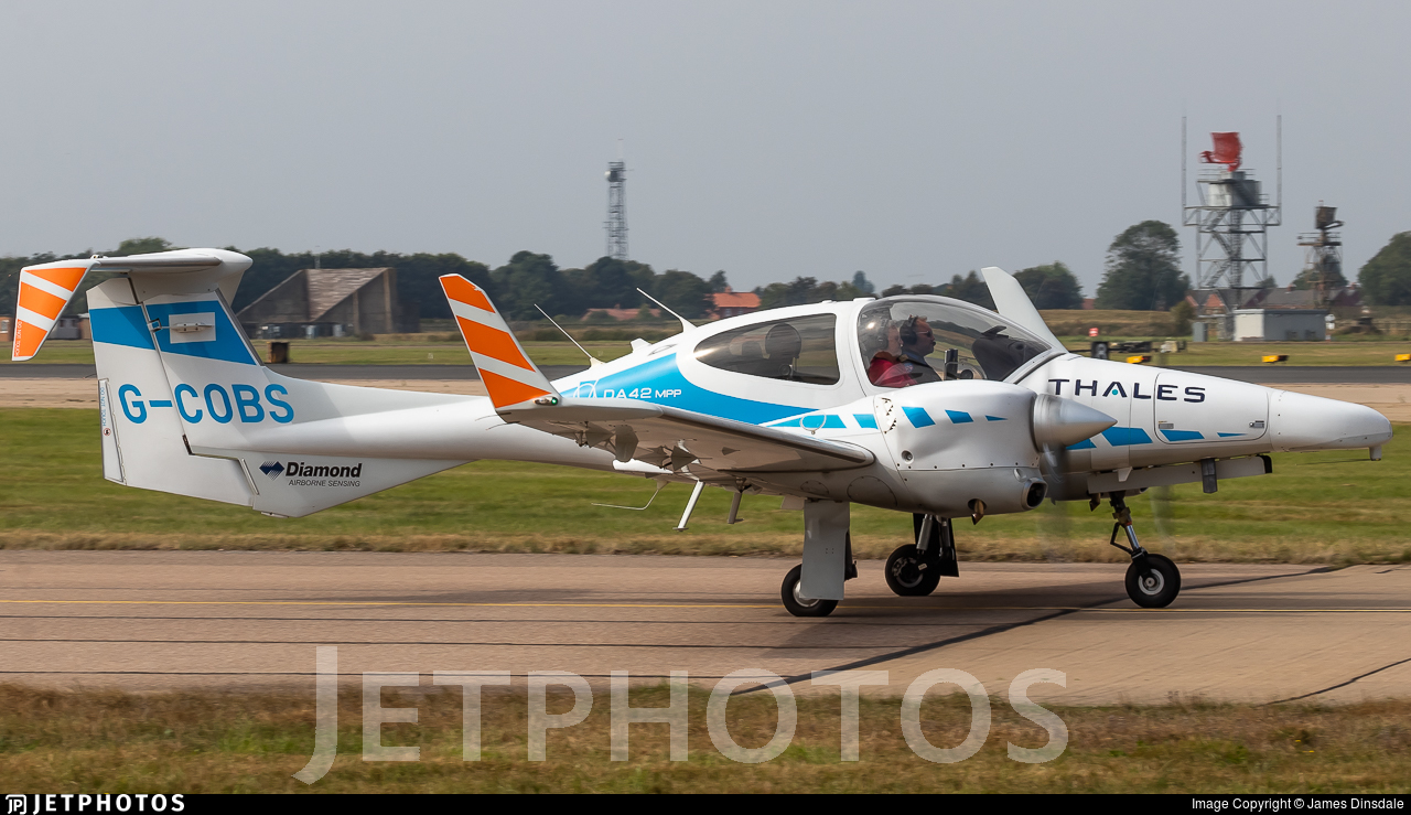 G-COBS - Diamond DA-42 MPP - Cobham Aviation Services