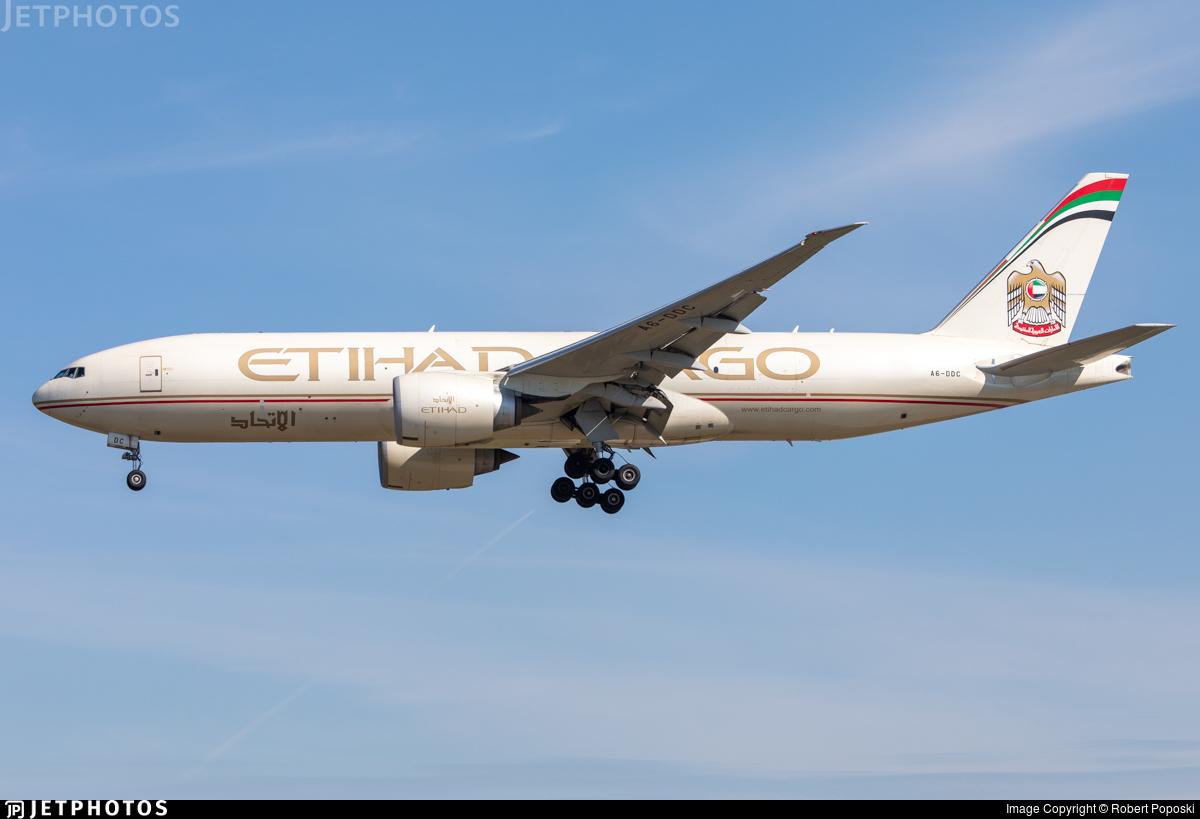 A6-DDC - Boeing 777-FFX - Etihad Cargo