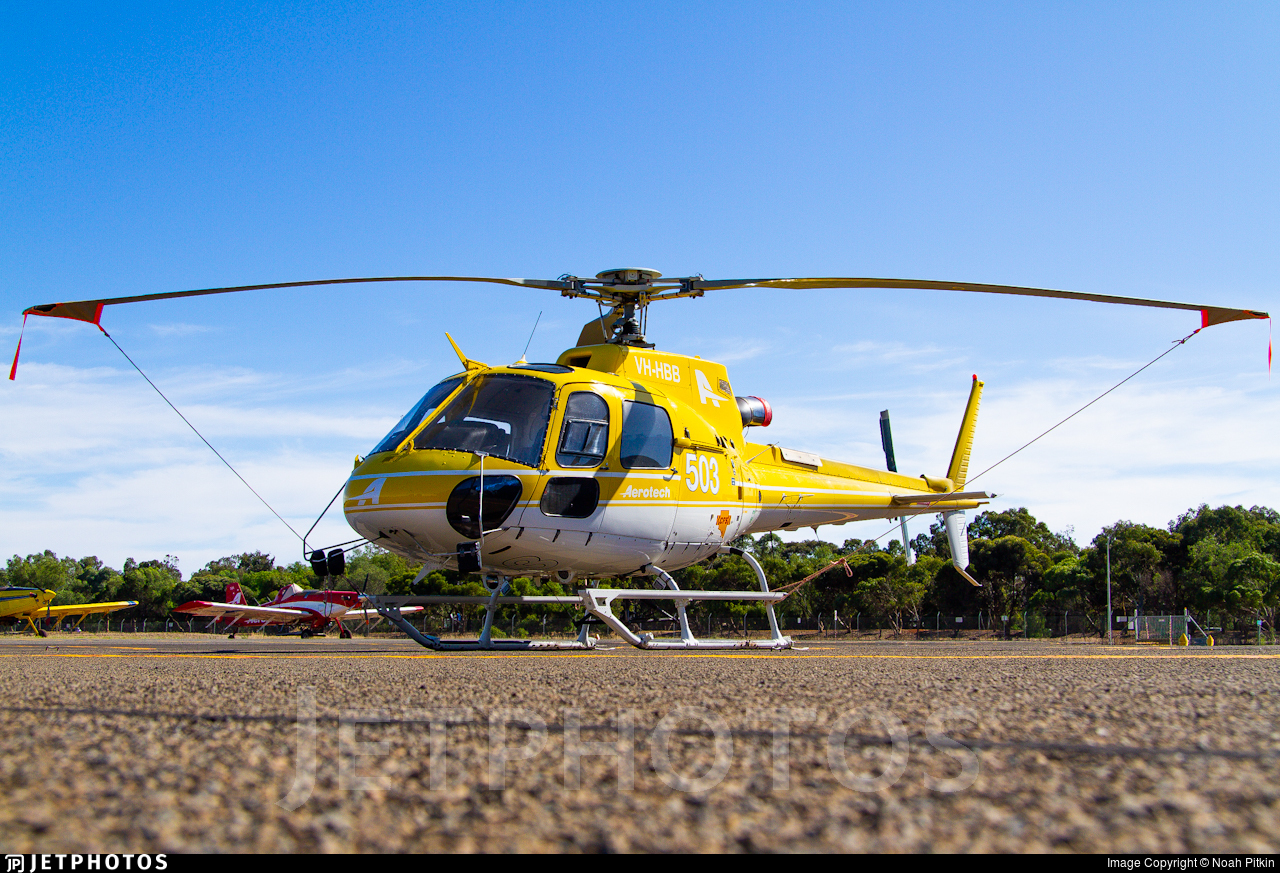 VH-HBB - Eurocopter AS 350B3 Ecureuil - Aerotech Australasia