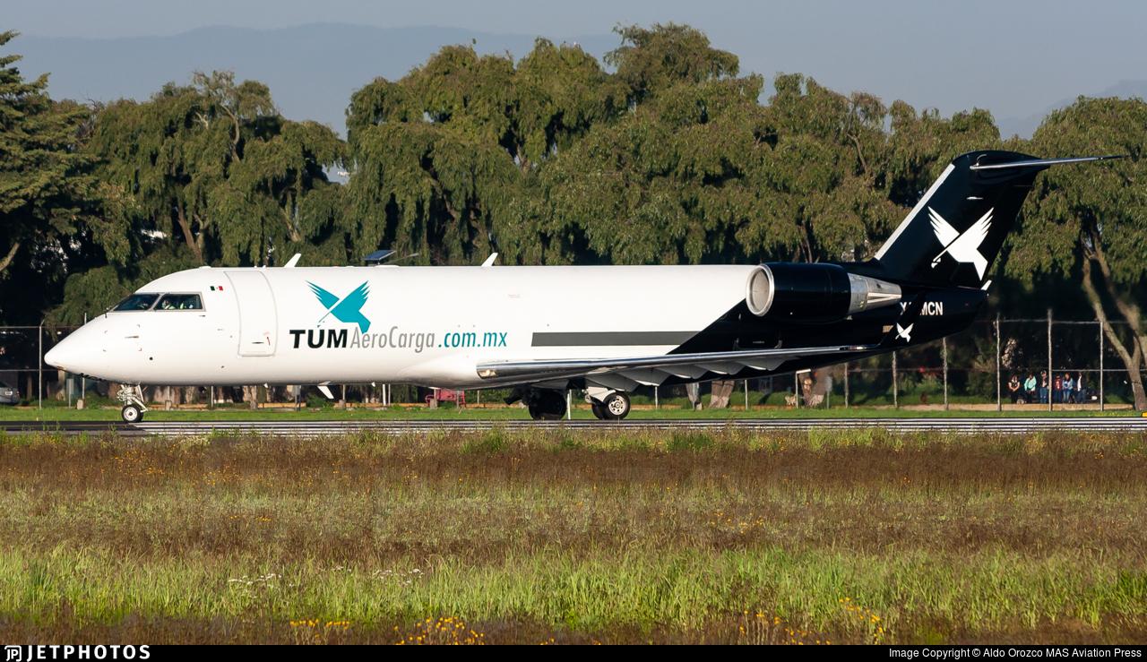 XA-MCN - Bombardier CRJ-200LR(PF) - TUM AeroCarga