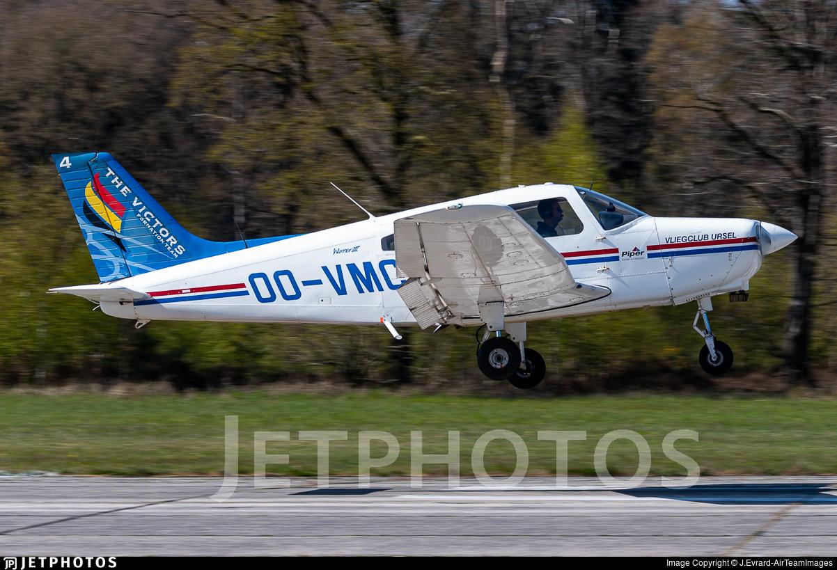 OO-VMC - Piper PA-28-161 Warrior III - Vliegclub Ursel