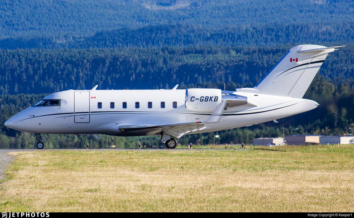 C-GBKB - Bombardier CL-600-2B16 Challenger 605 - Morningstar Partners