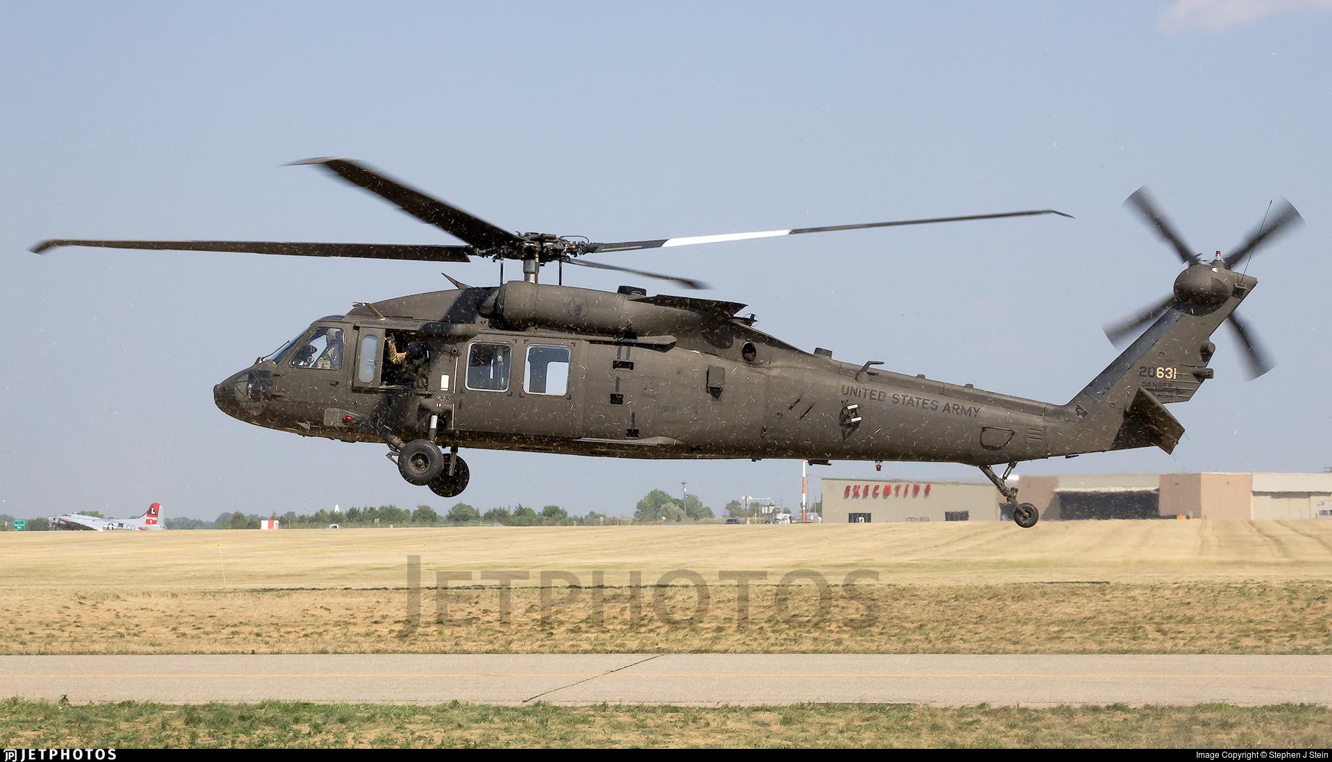 13-20631 - Sikorsky UH-60M Blackhawk - United States - US Army