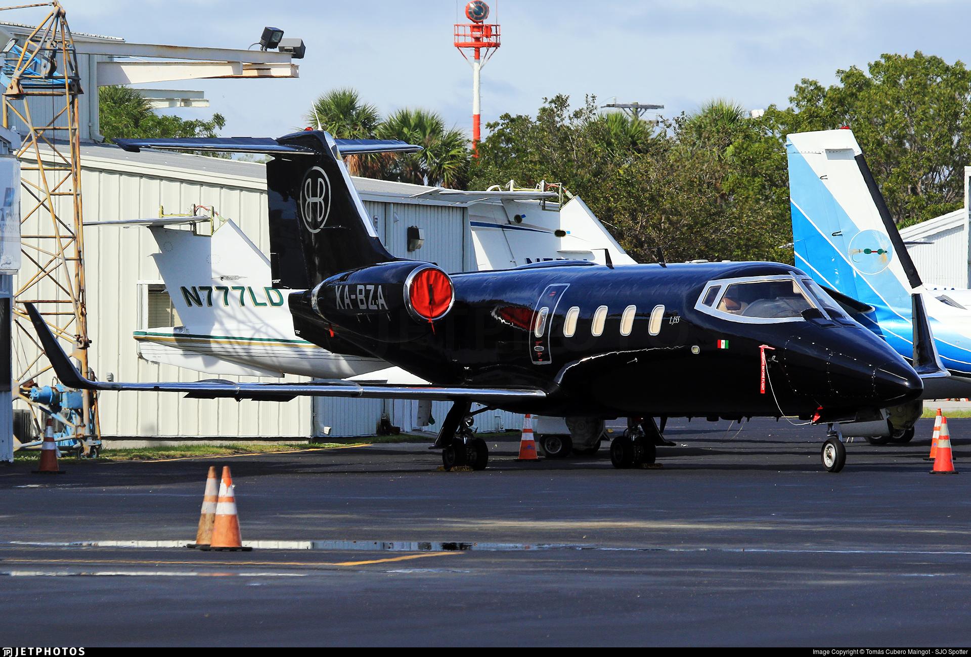 XA-BZA - Bombardier Learjet 55 - Private