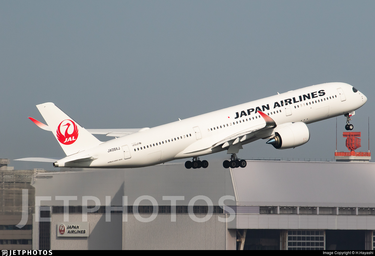 JA09XJ - Airbus A350-941 - Japan Airlines (JAL)