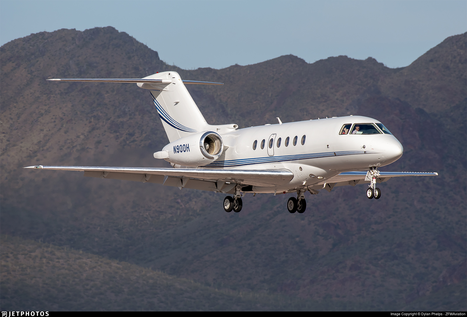 N900H - Hawker Beechcraft 4000 - Private