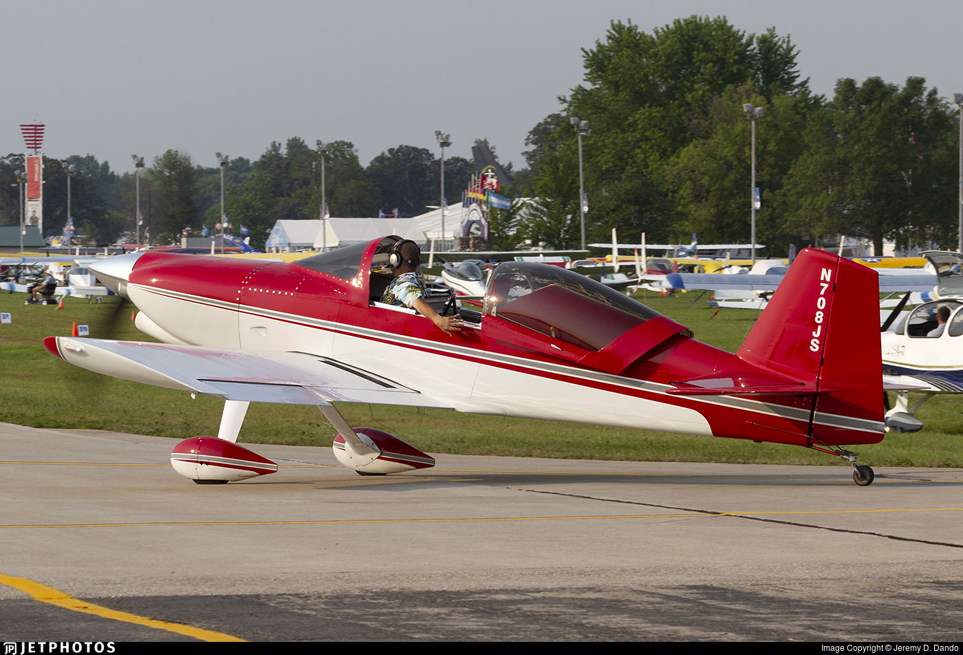 N708JS - Team Rocket F-1 - Private