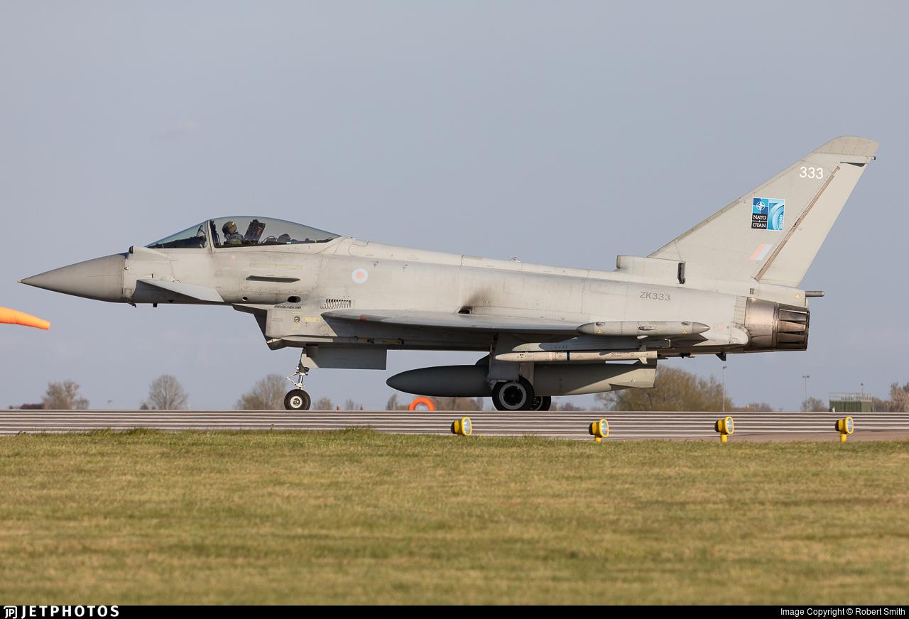 ZK333 - Eurofighter Typhoon FGR.4 - United Kingdom - Royal Air Force (RAF)
