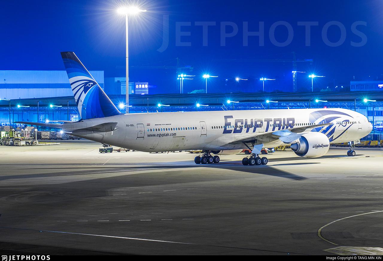 SU-GDL - Boeing 777-36NER - EgyptAir