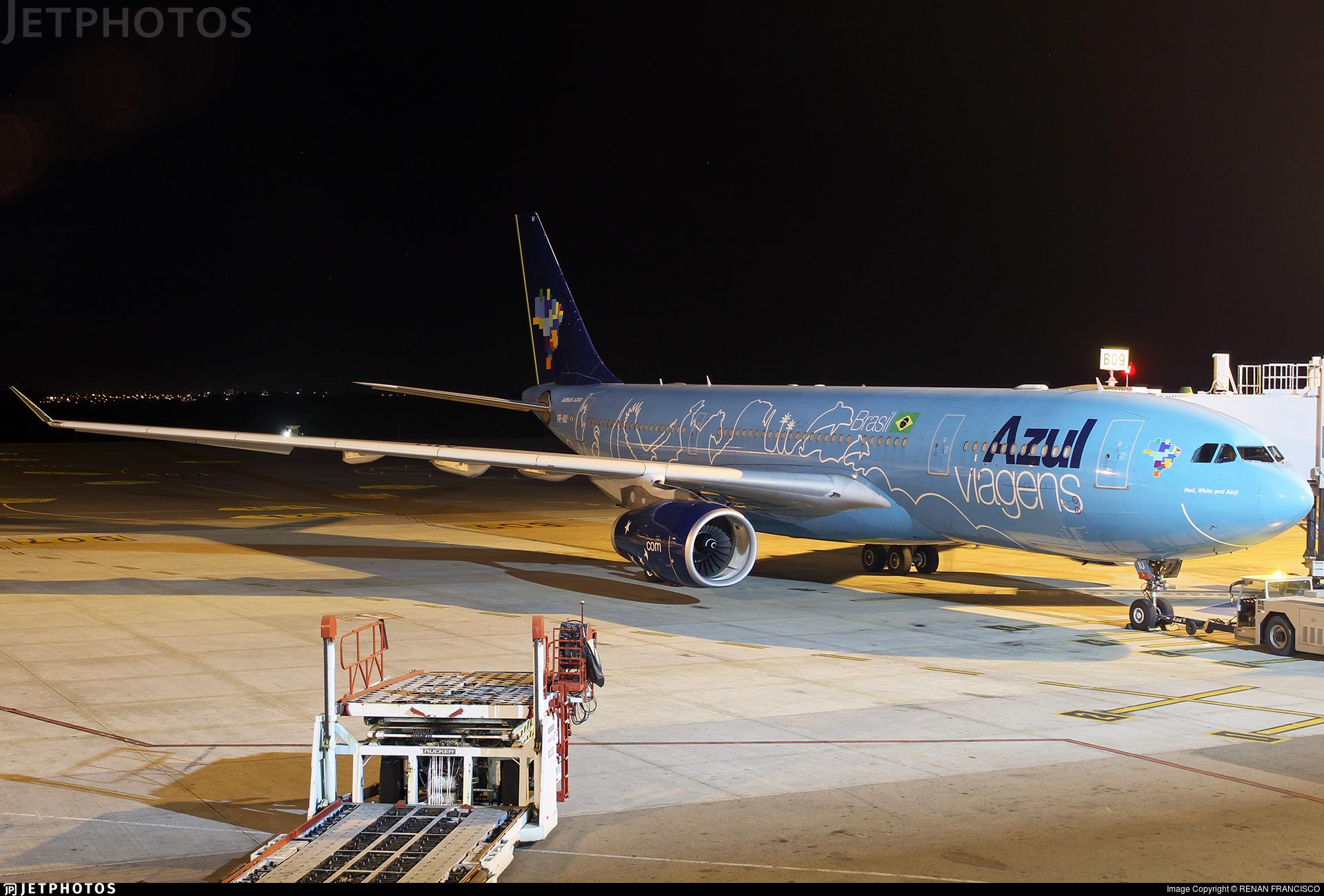 PR-AIU - Airbus A330-243 - Azul Linhas Aéreas Brasileiras