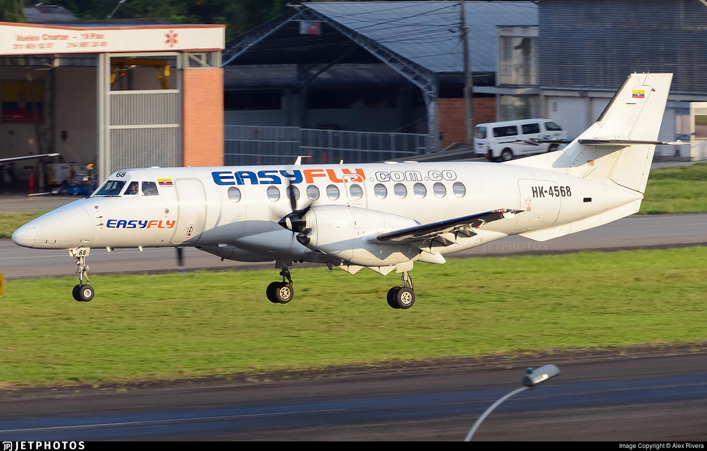 HK-4568 - British Aerospace Jetstream 41 - EasyFly