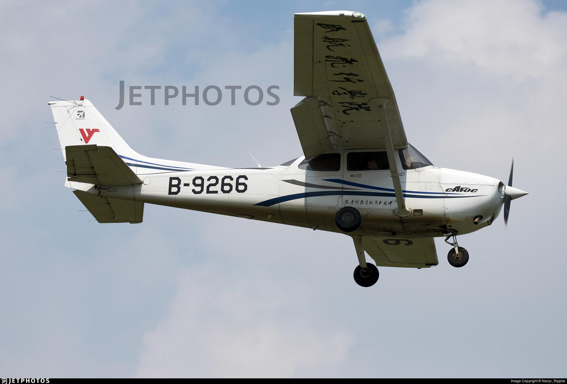 B-9266 - Cessna 172R Skyhawk - Civil Aviation Flight University of China