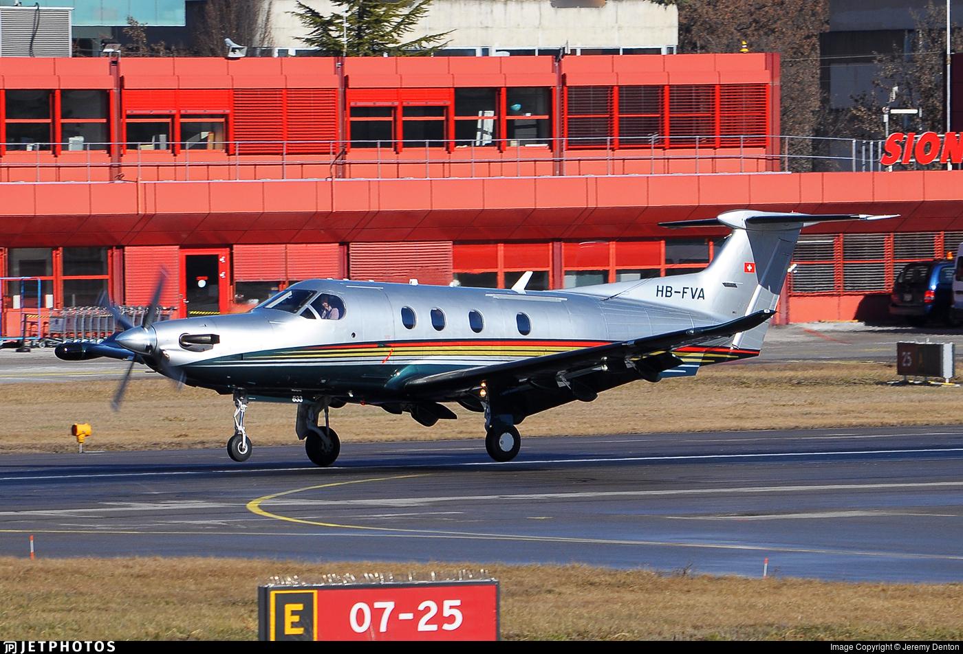 HB-FVA - Pilatus PC-12/47 - Fly 7 Executive Aviation
