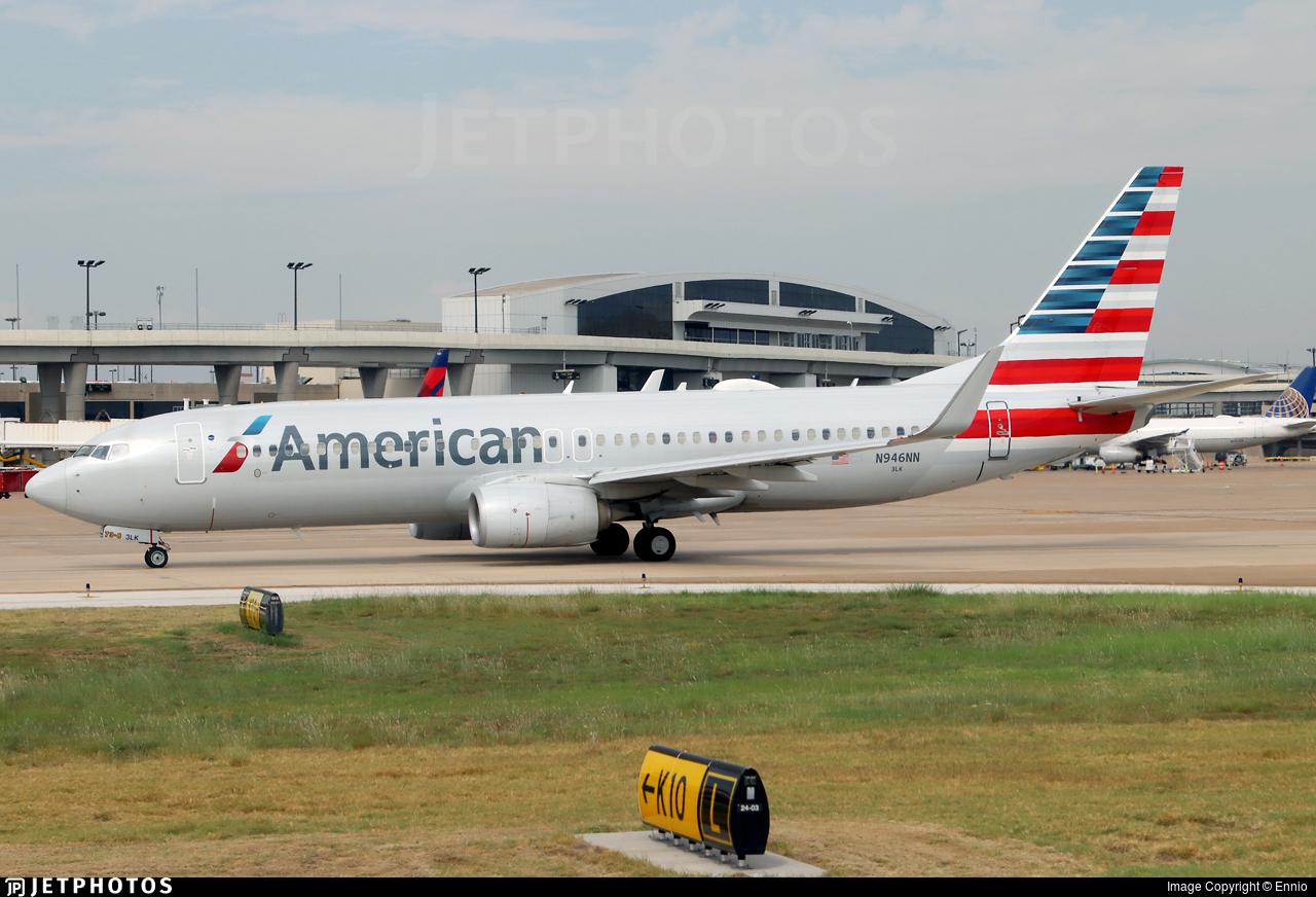 N946NN - Boeing 737-823 - American Airlines