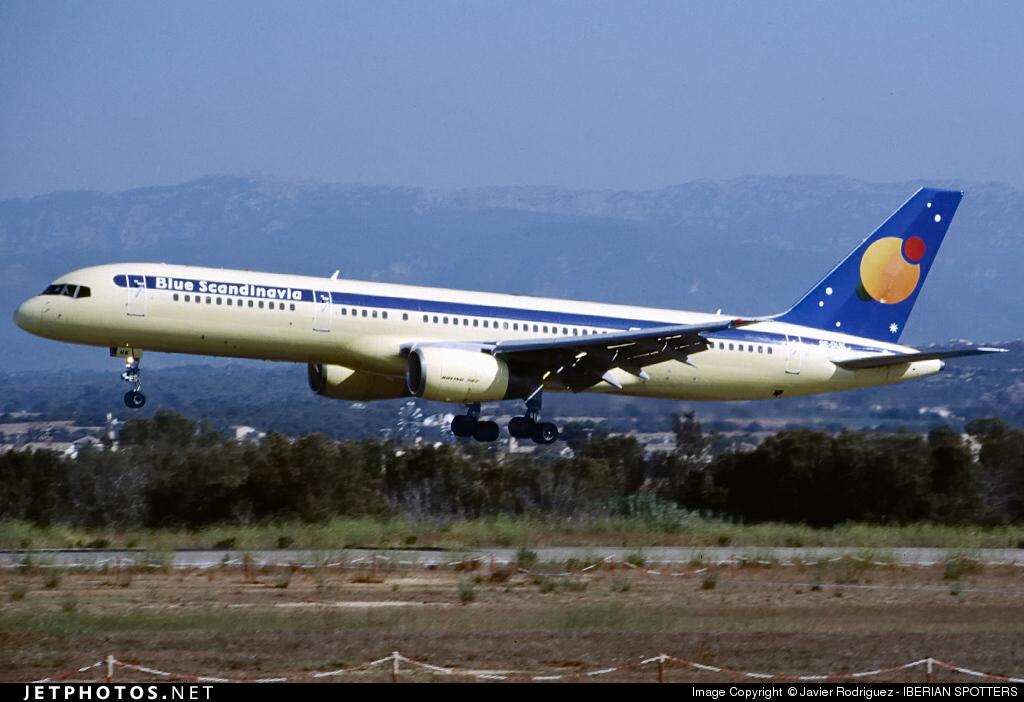 SE-DUK - Boeing 757-236 - Blue Scandinavia