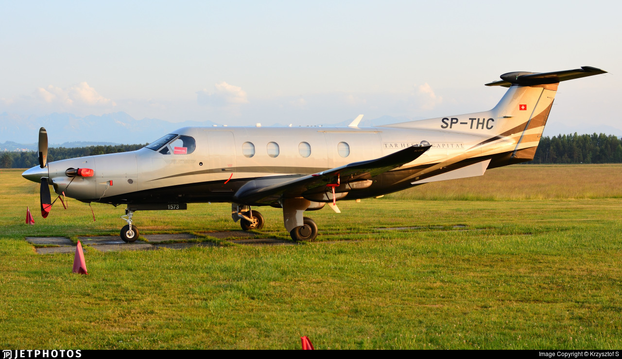 SP-THC - Pilatus PC-12/47E - Goldwings Flight Academy