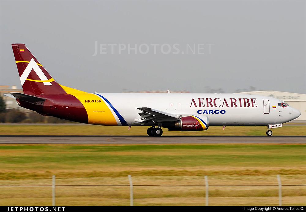HK-5139 | Boeing 737-476(SF) | Aer Caribe | Andres Tellez C ...