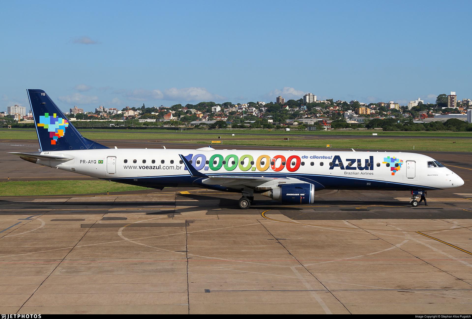 PR-AYQ - Embraer 190-200IGW - Azul Linhas Aéreas Brasileiras