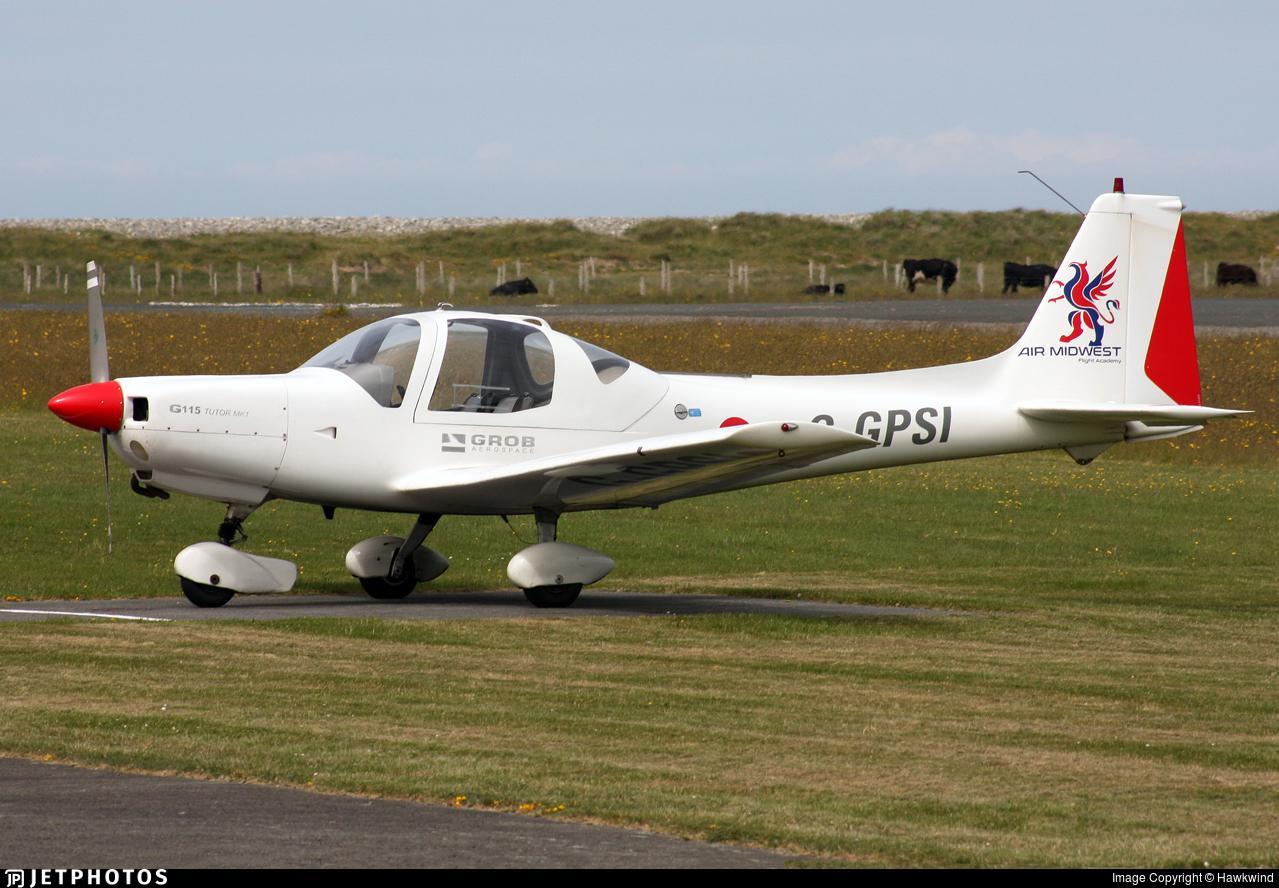 G-GPSI - Grob G115 - Air Midwest Flight Academy