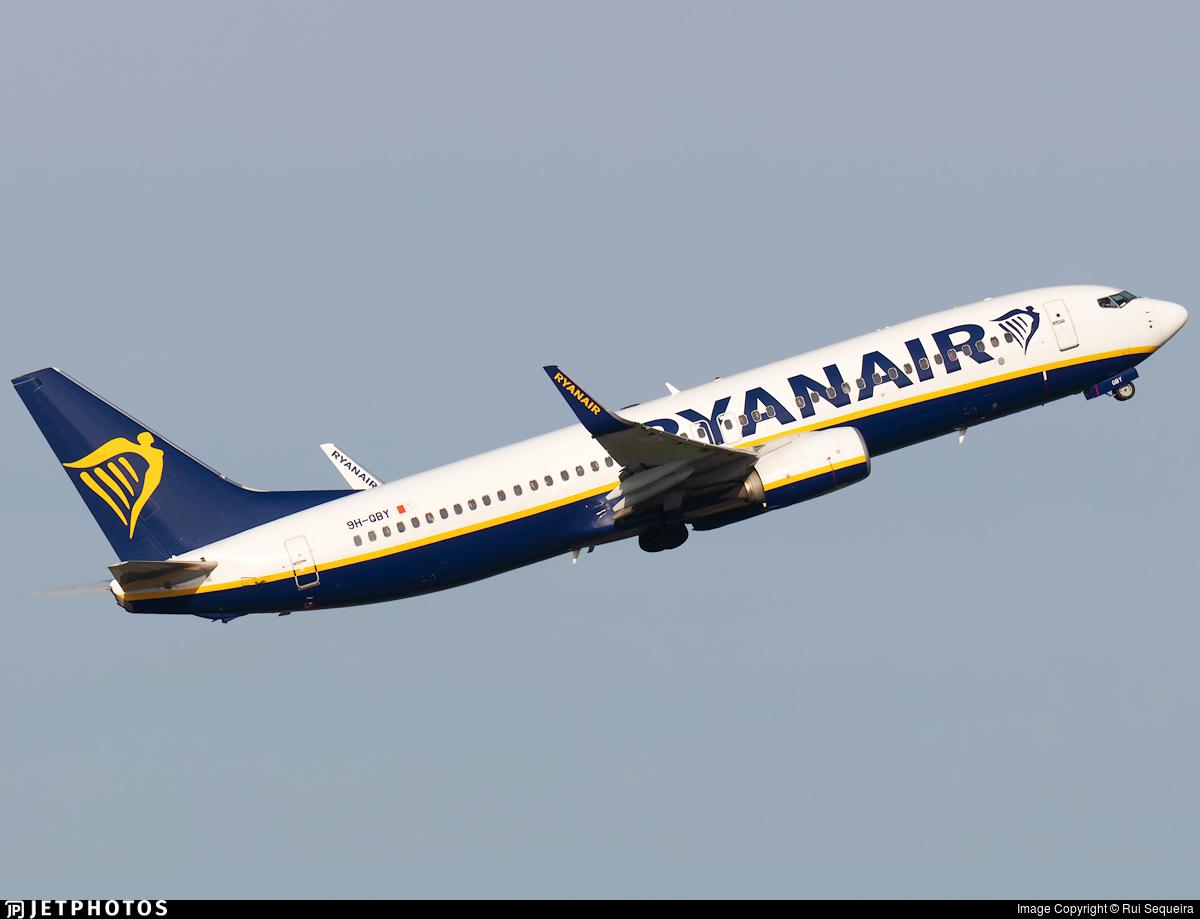 9H-QBY - Boeing 737-8AS - Malta Air (Ryanair)
