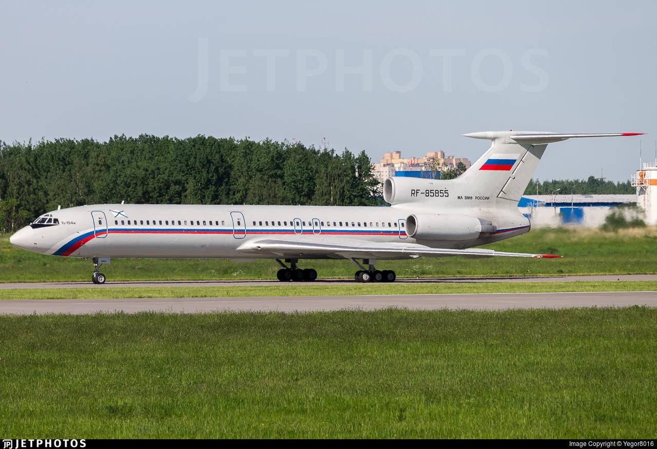 RF-85855 - Tupolev Tu-154M - Russia - Navy