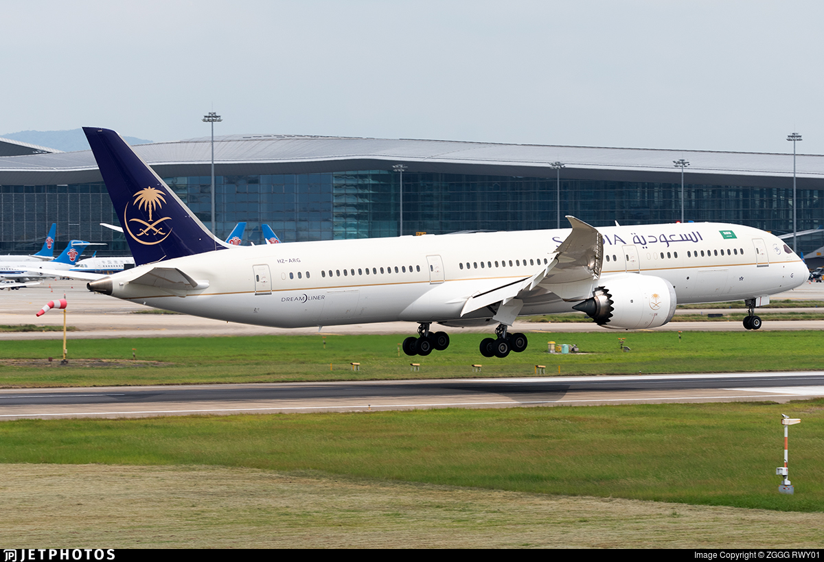 HZ-ARG - Boeing 787-9 Dreamliner - Saudi Arabian Airlines