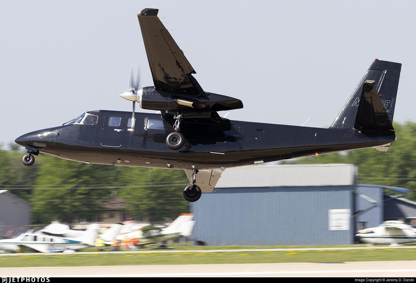 N880G - Rockwell 695 Jetprop 980 - Garlynson Airways