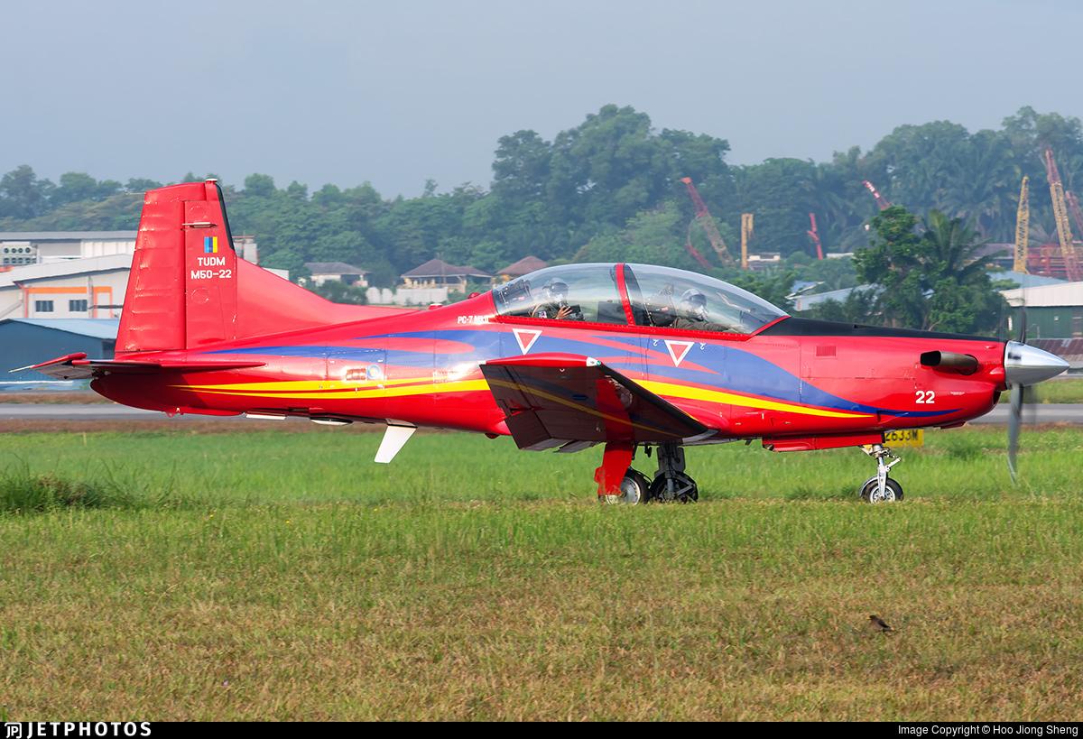 M50-22 - Pilatus PC-7 Mk.II - Malaysia - Air Force