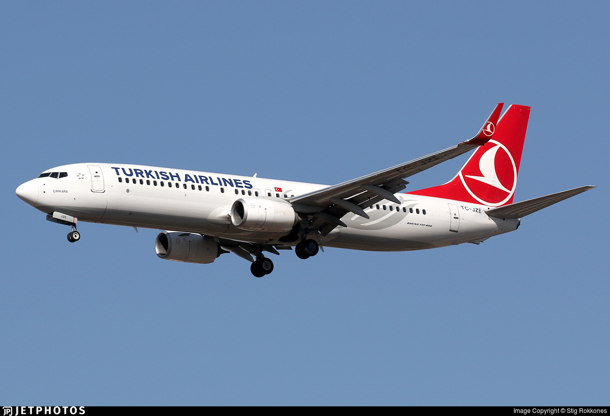 TC-JZE - Boeing 737-8F2 - Turkish Airlines