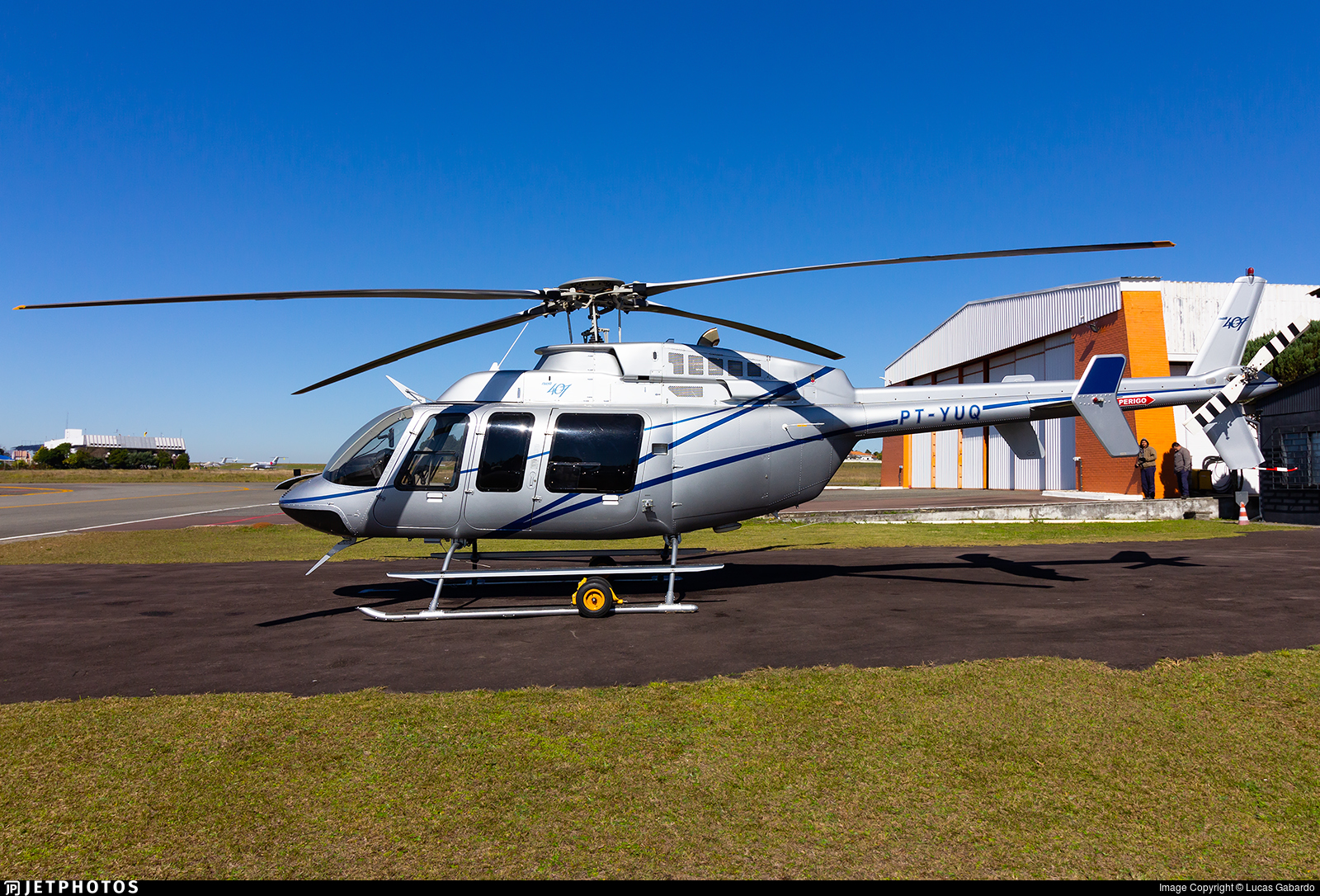 PT-YUQ - Bell 407 - Private