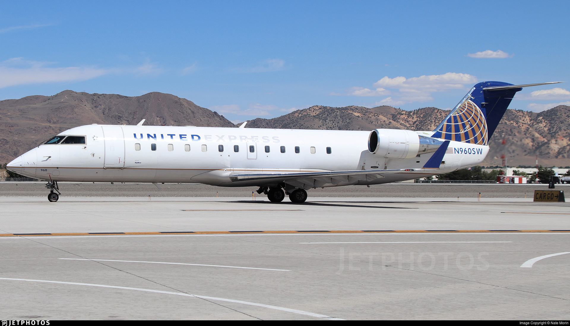 N960SW - Bombardier CRJ-200ER - United Express (SkyWest Airlines)