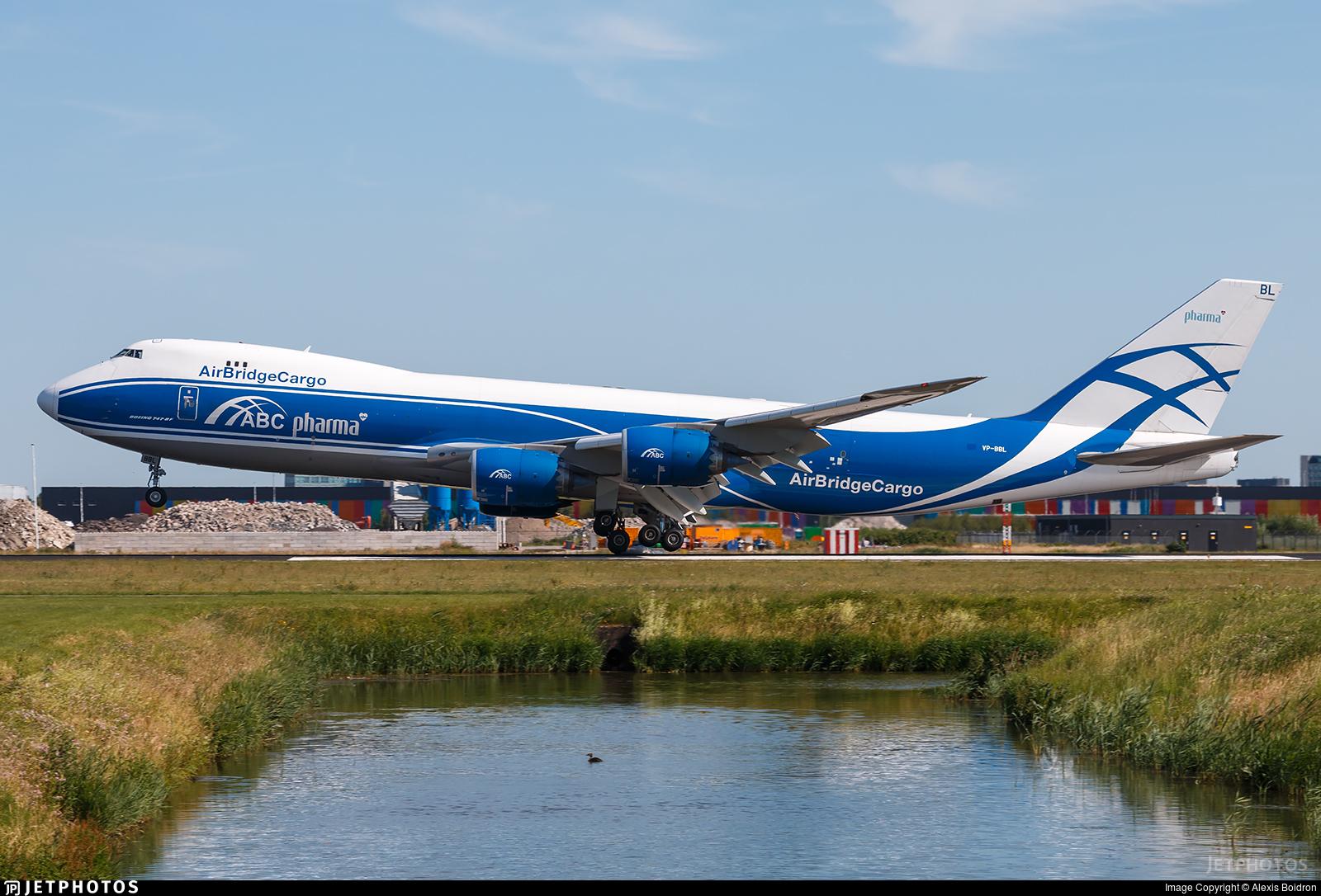 VP-BBL - Boeing 747-83QF - Air Bridge Cargo