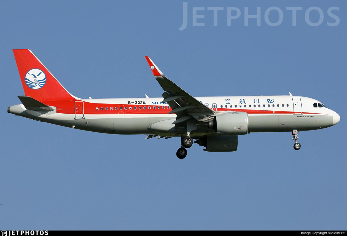 B-321E - Airbus A320-271N - Sichuan Airlines