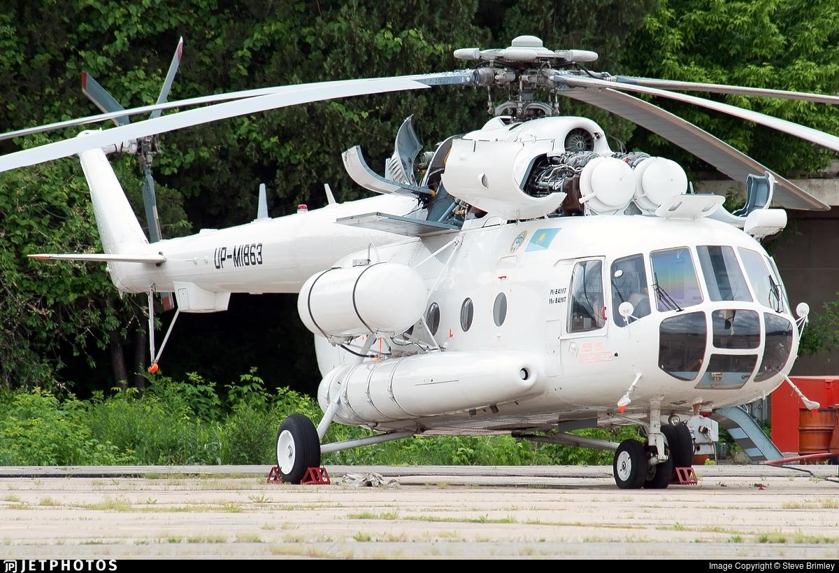 UP-MI863 - Mil Mi-8AMT Hip - Kazakhstan - Government