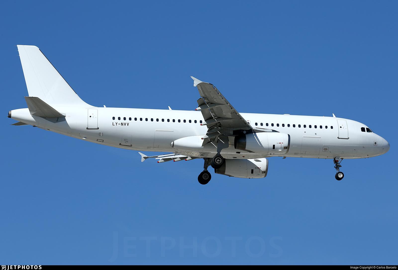 LY-NVV - Airbus A320-232 - Avion Express